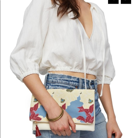 Rachel Pally Handbags - RACHEL PALLY REVERSIBLE CLUTCH - BLOOM